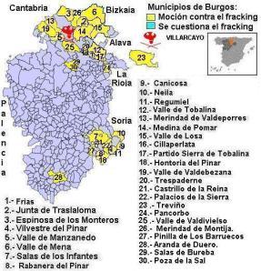 pueblos fracking burgos